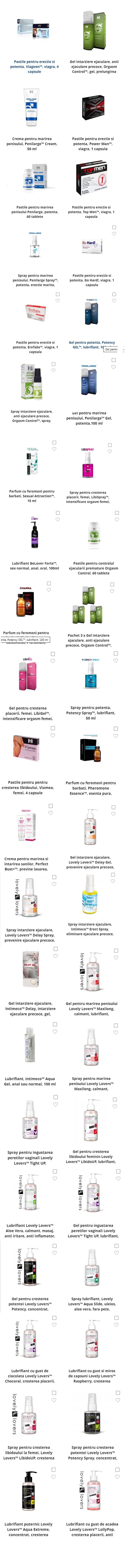 Pilule pentru mărirea penisului - Clasamentul produselor
