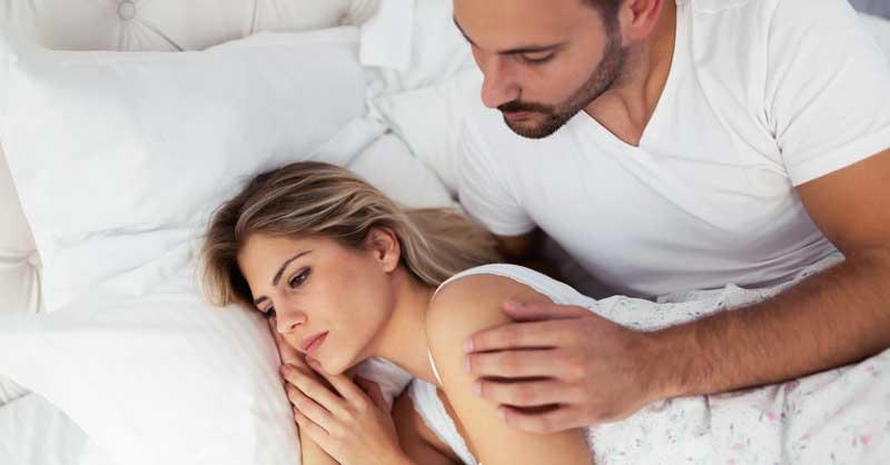 cu depresie, o erecție poate dispărea