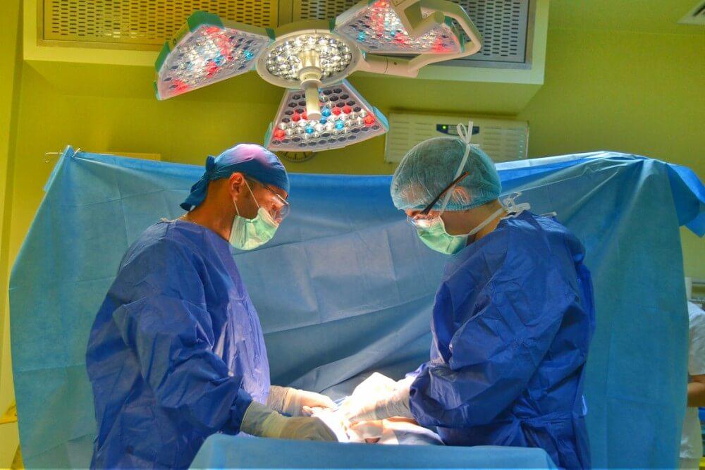 după erecția anesteziei