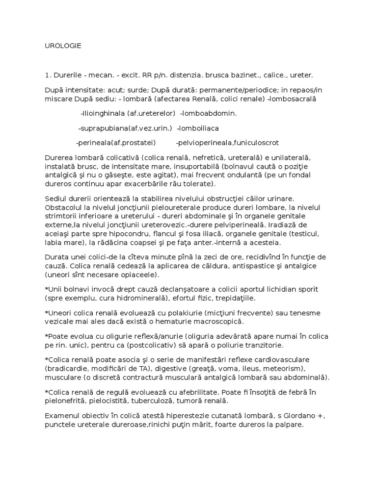 Intrebari pentru dr. Valentin Voinescu, medic specialist urologie | Page 25 | Medlife