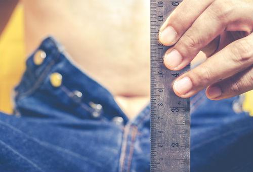 cum să determinați corect dimensiunea penisului punctul de erecție