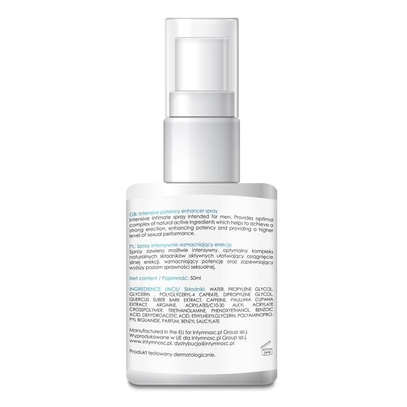 Spray pentru potenta MAXI ERECT 907 - erectie puternica!
