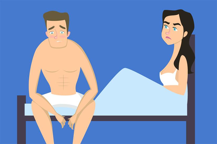 erecție frecventă cu durere