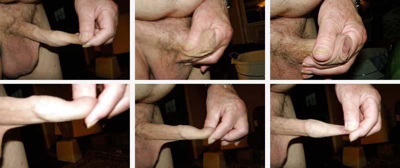 penisul erect aplecat ce prelungește o erecție