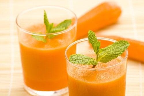 suc de morcovi pentru erecții