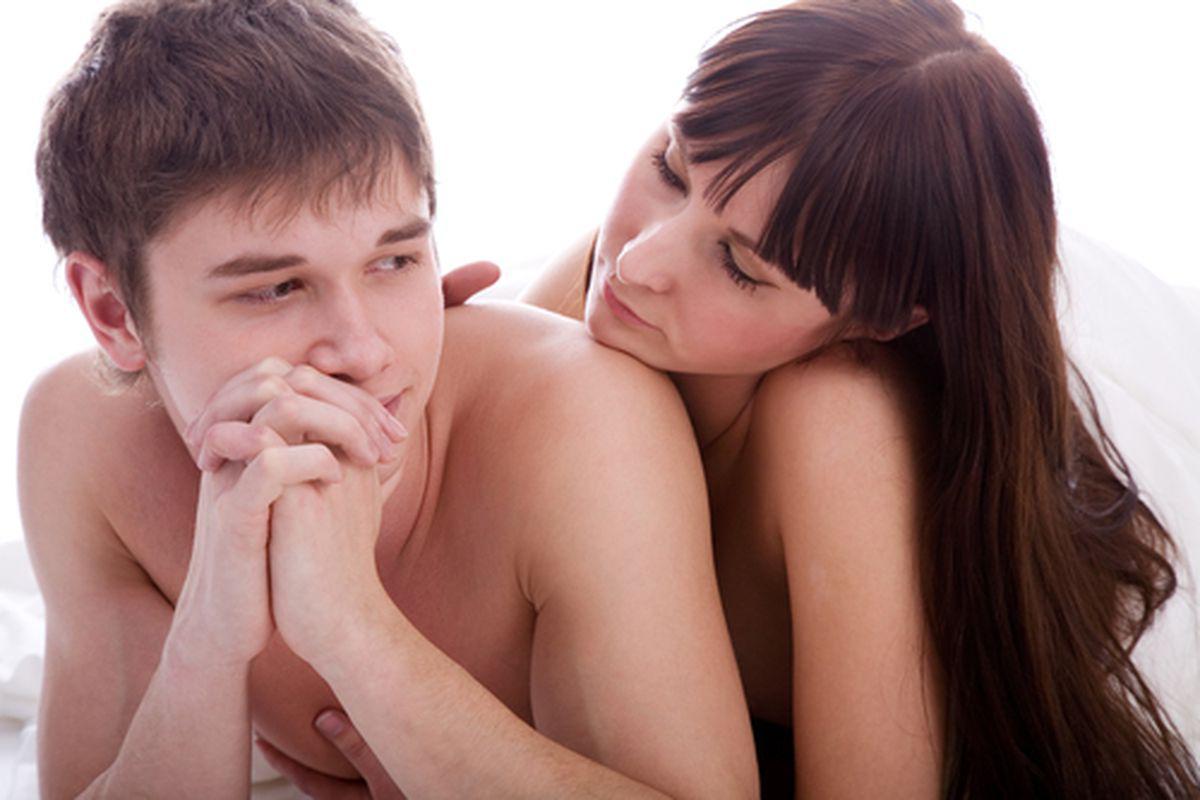 erecție cu o femeie nouă