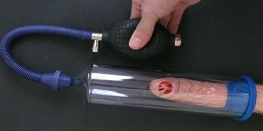 cum se întărește o erecție cu o pompă de vid